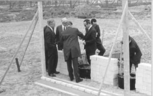 08.05.1969 eerste steenlegging Malvert