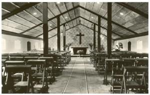 Eerste kerkdienst 2006