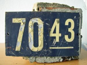 boerderij Meijhorst nummerbordje