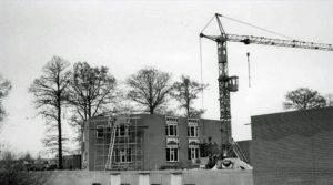 politiebureau zwanenveld 1987 in aanbouw